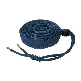 OWLTECH オウルテック Bluetoothスピーカー 水に浮かぶ 防水防塵 IP67 5W 15時間連続再生 ハンズフリー通話 アウトドア マリンスポーツ ウィンタースポーツ 2台接続でワイヤレスステレオモード ネイビー OWL-BTSP01S-NV