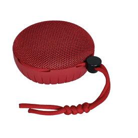 OWLTECH オウルテック Bluetoothスピーカー 水に浮かぶ 防水防塵 IP67 5W 15時間連続再生 ハンズフリー通話 アウトドア マリンスポーツ ウィンタースポーツ 2台接続でワイヤレスステレオモード レッド OWL-BTSP01S-RE