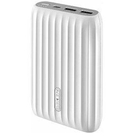ZENDURE ゼンデュア ZENDURE X5 モバイルバッテリー ホワイト ZDPX5PD-W [15000mAh /USB Power Delivery対応 /3ポート /充電タイプ]