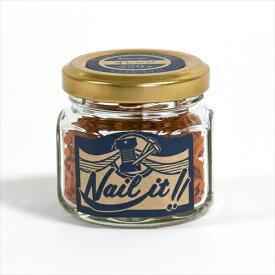 若井産業 WAKAI NB70014 釘17x19瓶 オレンジ320本 NB70014