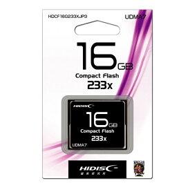 磁気研究所 Magnetic Laboratories コンパクトフラッシュ HIDISC HDCF16G233XJP3 [16GB]