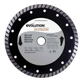 エボリューションパワーツール Evolution Power Tools evolution 万能切断ダイヤモンドホイール evolution 185mmDIA