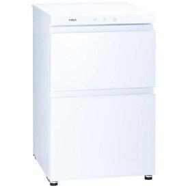 AQUA アクア ファン式冷凍庫 クリスタルホワイト AQF-GD10J-W [2ドア /引き出しタイプ /100L]