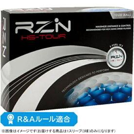 RZN Golf ゴルフボール RZN HS-TOUR《1スリーブ(3球)/ホワイト》