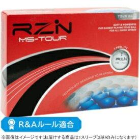 RZN Golf ゴルフボール RZN MS-TOUR《1スリーブ(3球)/ホワイト》