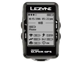 LEZYNE レザイン GPSサイクルコンピューター SUPER GPS(ブラック) 57_3700210002