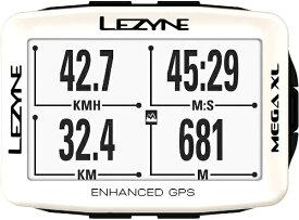 LEZYNE レザイン GPSサイクルコンピューター MEGA XL GPS 19 SP EDITION(ホワイト) 57_3701100110