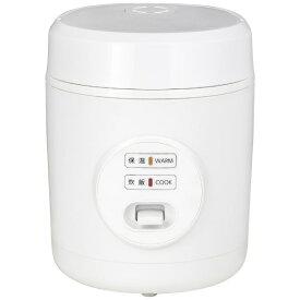 ヤマゼン YAMAZEN 小型炊飯器 ホワイト YJE-M150-W [マイコン /1.5合]