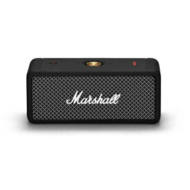 Marshall マーシャル ブルートゥーススピーカー ブラック EMBERTON-BLACK [Bluetooth対応 /防水]