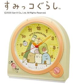 セイコー SEIKO 目覚まし時計 【すみっコぐらし】 黄色パール CQ162Y
