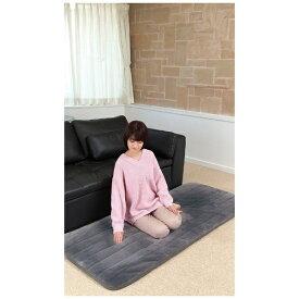 広電 KODEN CPRG182HZ らく寝ぼう 超ふかふかタイプ グレー [シングルサイズ /敷毛布]