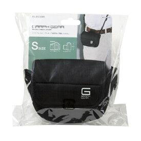エレコム ELECOM GRAPH GEAR/ジャケットケース/S30/ブラック DGB-SJ01S30BK