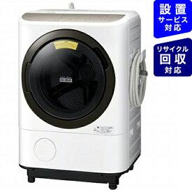 日立 HITACHI ドラム式洗濯機 ビッグドラム ホワイト BD-NV120FL-W [洗濯12.0kg /乾燥7.0kg /ヒーター乾燥 /左開き]
