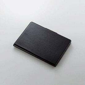 エレコム dtab d-41A フラップケース ソフトレザー 360度回転 ブラック TB-S203360BK