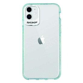 サムライワークス SAMURAI WORKS iPhone 11 Ultra Protect Case ブルーグリッター Hash feat.#F HF-CTIXIR-4H04