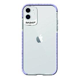 サムライワークス SAMURAI WORKS iPhone 11 Ultra Protect Case パープル Hash feat.#F HF-CTIXIR-07PL