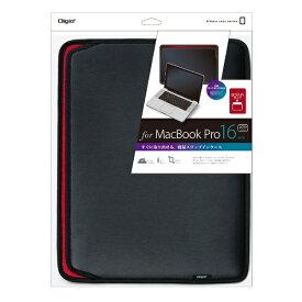 ナカバヤシ Nakabayashi MacBook Pro 16インチ(2019)用 スリップインケース 横入れ ブラック SZC-MPY6103BK