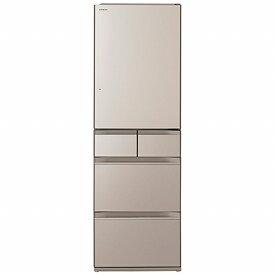 日立 HITACHI 《基本設置料金セット》冷蔵庫 HWSタイプ クリスタルシャンパン R-HWS47N-XN [5ドア /右開きタイプ /470L]【zero_emi】