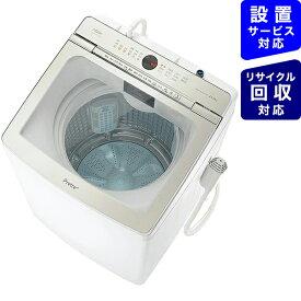 AQUA アクア 全自動洗濯機 Prette(プレッテ) ホワイト AQW-GVX140J-W [洗濯14.0kg /乾燥機能無 /上開き][洗濯機 11kg]