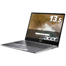 ACER エイサー Chromebook クロームブックCP713-2W-A38P/E ノートパソコン Chromebook(クロームブック) Spin 713(コンバーチブル型) スティールグレイ [13.5型 /intel Core i3 /eMMC:64GB /メモリ:8GB /2020年10月モデル]