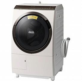 日立 HITACHI ドラム式洗濯機 ビッグドラム ロゼシャンパン BD-SX110FL-N [洗濯11.0kg /乾燥6.0kg /ヒーター乾燥 /左開き]