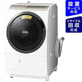 日立 HITACHI BD-SV110FL-W ドラム式洗濯機 ホワイト [洗濯11.0kg /乾燥6.0kg /ヒートリサイクル乾燥 /左開き]