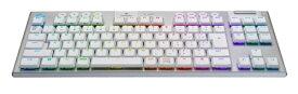 ロジクール Logicool G913-TKL-TCWH ゲーミングキーボード タクタイル ホワイト [Bluetooth・USB /ワイヤレス]