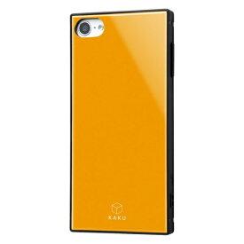 レイアウト rayout iPod touch 7th/6th/5th(2014/2012) 耐衝撃ハイブリッドケース KAKU オレンジ RS-T8K3TB/OR