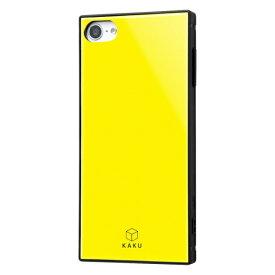 レイアウト rayout iPod touch 7th/6th/5th(2014/2012) 耐衝撃ハイブリッドケース KAKU イエロー RS-T8K3TB/Y