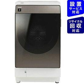 シャープ SHARP ドラム式洗濯機 ブラウン系 ES-WS13-TL [洗濯11.0kg /乾燥6.0kg /ヒートポンプ乾燥 /左開き]