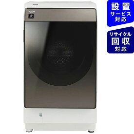 シャープ SHARP ドラム式洗濯機 ブラウン系 ES-WS13-TR [洗濯11.0kg /乾燥6.0kg /ヒートポンプ乾燥 /右開き]