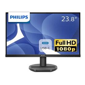 フィリップス PHILIPS 243S9A/11 USB-C接続 PCモニター ブラック [23.8型 /ワイド /フルHD(1920×1080)]