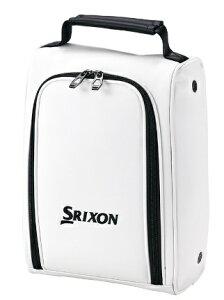 ダンロップ スリクソン DUNLOP SRIXON シューズケース SRIXON スリクソン(L24×H34×W14cm/ホワイト)GGA-S164
