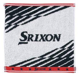 ダンロップ スリクソン DUNLOP SRIXON ハンドタオル GGF-05182 ホワイト