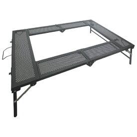 尾上製作所 ONOE プラスONE BBQテーブル(W1170×D800×H300・700mm) T-4683