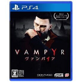 GSE Game Source Entertainment Vampyr ヴァンパイア 通常版【PS4】