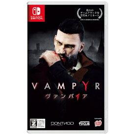 GSE Game Source Entertainment Vampyr ヴァンパイア 通常版【Switch】 【代金引換配送不可】