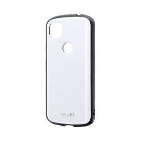 MSソリューションズ Pixel 4a 耐衝撃ハイブリッドケース 「PALLET AIR」 ホワイト LP-20SP1PLAWH