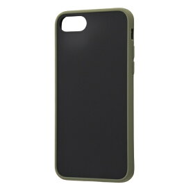 レイアウト rayout iPhone SE(第2世代)/8/7 耐衝撃マットHB Sarafit RT-P24BS3/G カーキ