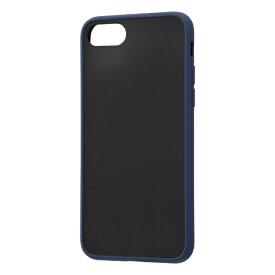 レイアウト rayout iPhone SE(第2世代)/8/7 耐衝撃マットHB Sarafit RT-P24BS3/DN ネイビー