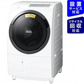 日立 HITACHI ドラム式洗濯機 ビッグドラム ホワイト BD-SG100FL-W [洗濯10.0kg /乾燥6.0kg /ヒーター乾燥 /左開き]
