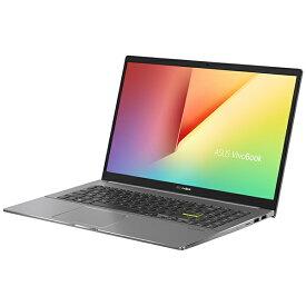 ASUS エイスース M533IA-BQ0BLT ノートパソコン VivoBook S15 M533IA インディーブラック [15.6型 /AMD Ryzen 7 /SSD:1TB /メモリ:16GB /2020年9月モデル]
