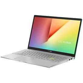ASUS エイスース M533IA-BQ0GRT ノートパソコン VivoBook S15 M533IA ガイアグリーン [15.6型 /AMD Ryzen 7 /SSD:1TB /メモリ:16GB /2020年9月モデル]