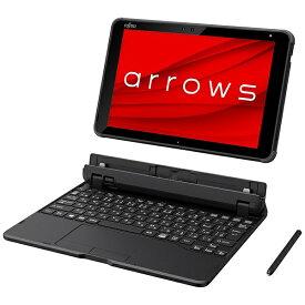 富士通 FUJITSU FAREHT1 KB分離式ノートパソコン arrows Tab EH(セパレート型) ブラック [10.1型 /intel Celeron /eMMC:128GB /メモリ:4GB /2020年9月モデル][10.1インチ office付き 新品 windows10]