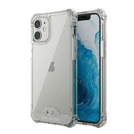 エレコム ELECOM iPhone 12 mini 5.4インチ対応 ハイブリッドケース ZEROSHOCK フォルティモ(R) クリア