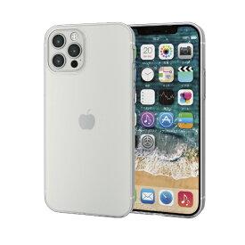 エレコム ELECOM iPhone 12/12 Pro 6.1インチ対応 ソフトケース 薄型 クリア