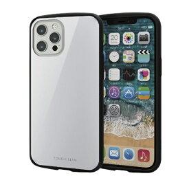 エレコム ELECOM iPhone 12 Pro Max 6.7インチ対応ハイブリッドケース TOUGH SLIM LITE ホワイト