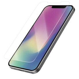エレコム ELECOM iPhone 12/12 Pro 6.1インチ対応 ガラスフィルム 0.33mm ブルーライトカット 反射防止