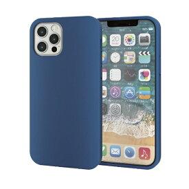 エレコム ELECOM iPhone 12/12 Pro 6.1インチ対応 ハイブリッドケース 360度保護 ブルー