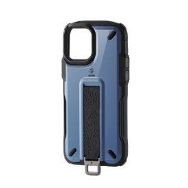 エレコム iPhone 12/12 Pro 6.1インチ対応 ハイブリッドケース NESTOUT Trekking スモーキーブルー
